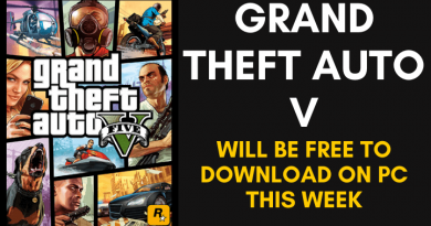 Grand Theft Auto V Will Be Free To Download On PC This Week
